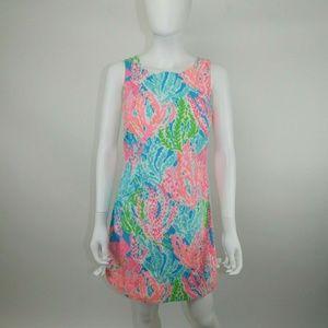 Lilly Pulitzer Delia Let's Cha Cha Sheath Dress